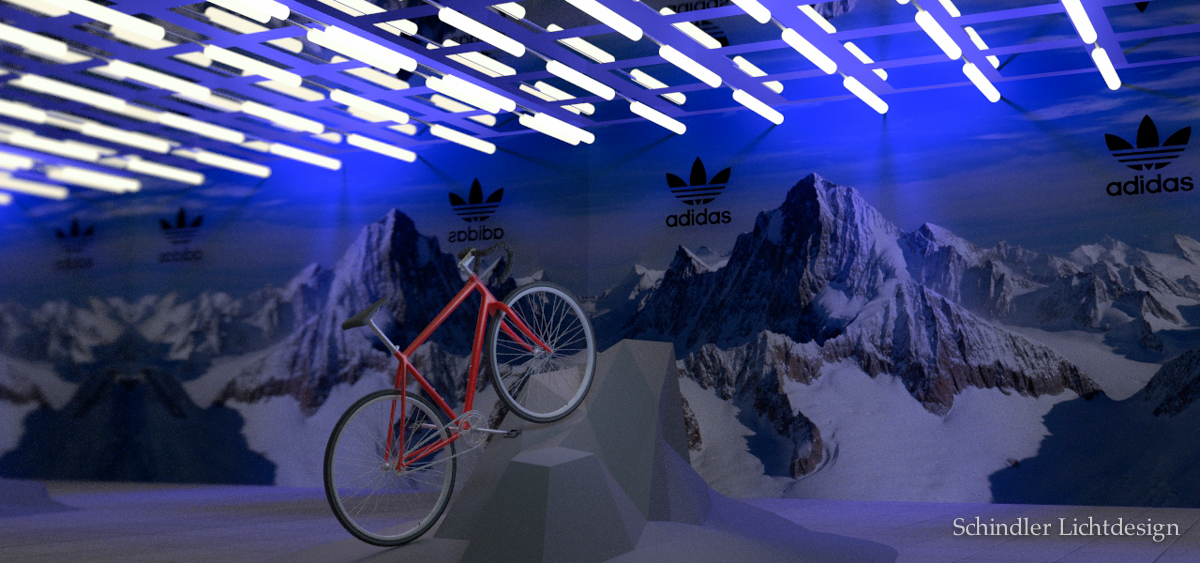 Adidas Booth