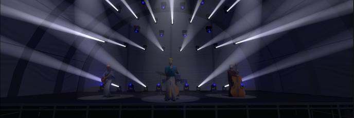 Stage Live Light Battle